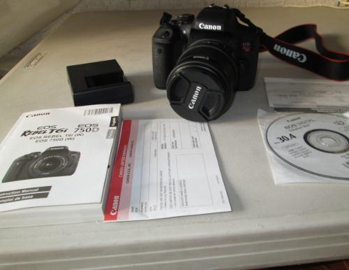 Canon Camara Digital Con Extras