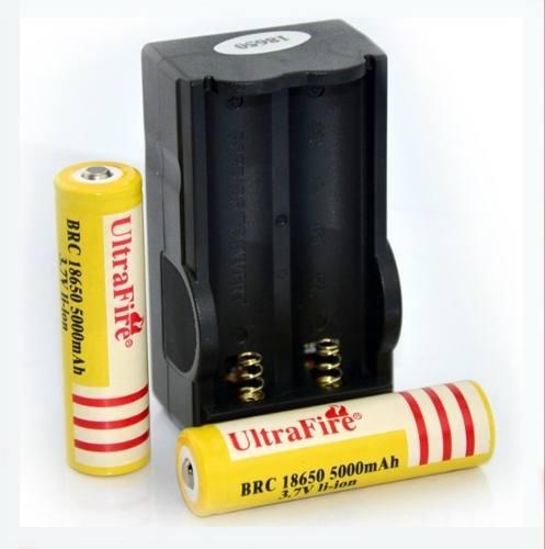 Cargador De Baterias  Pila Recargable Linterna I104