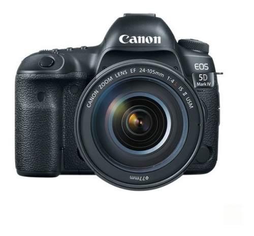 Cámara Canon Eos 5d Mark Iv Con Lente Ef mm F/4l Ii