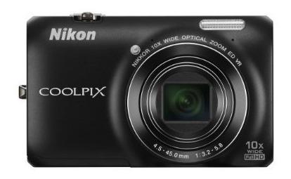 Cámara Digital Nikon Coolpix S Mp Con Lente Vidrio N
