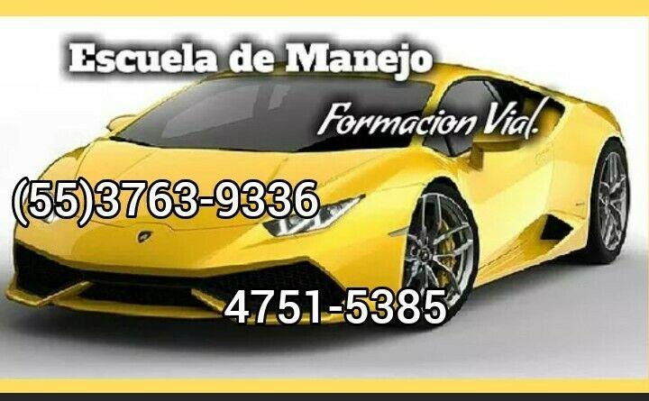 """Escuela De Manejo Formación Vial """"Vamos hasta Tu Domicilio"""""""
