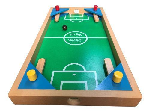 Futbolito De Madera - Juego Para Niños