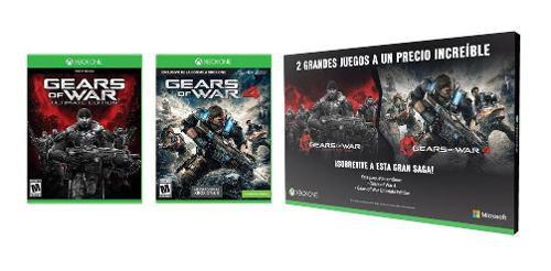Gears Of War Ultimate Edition Y Gears Of War 4