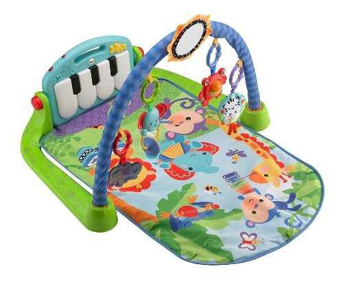 Gimnasio Pataditas Musicales Para Bebe Fisher Price Movil
