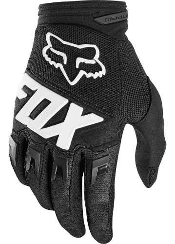 Guantes Fox Racing Dirtpaw Race Motocross Enduro Mtb Negro