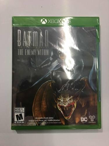 Juego Batman The Enemy Within Para Xbox One Nuevo Sellado