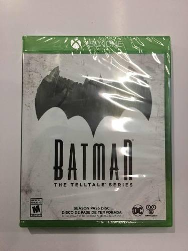 Juego Batman The Telltale Series Para Xbox One Nuevo Sellado