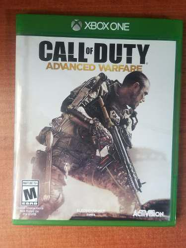 Juego Call Of Duty Advanced Warfare Xbox One