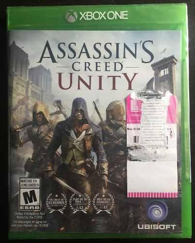 Juego De Assassins Creed Unity Xbox One Sellado