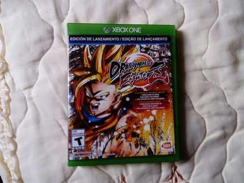 Juego De Xbox One Dragon Ball Fighter Z En Buen Estado