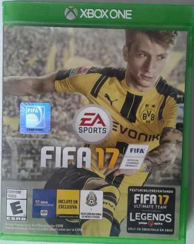 Juego Fifa 17 Para Xbox One
