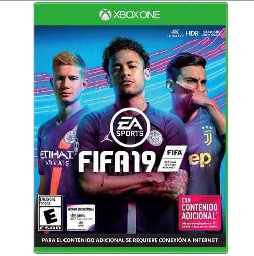 Juego Fifa 19 Para Xbox One Nuevo Y Sellado