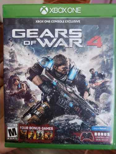 Juego Para Xbox One Gears Of Wars 4 Original