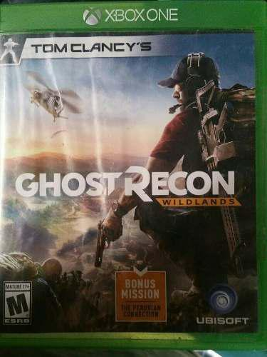 Juego Para Xbox One Ghost Recon Wild Lands
