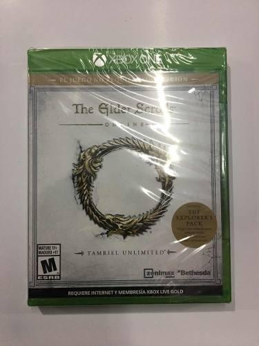 Juego The Elder Scrolls Online Para Xbox One Nuevo Sellado