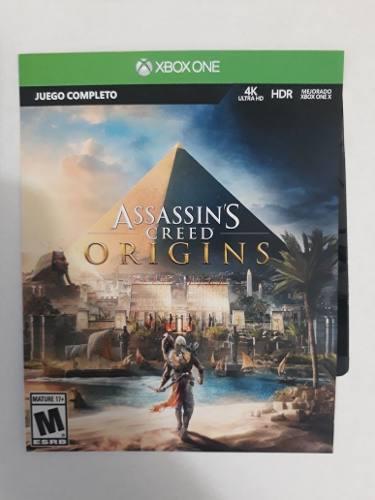Juego Xbox One Assassins Creed Origins Precio A Tratar
