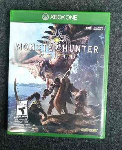 Juego Xbox One Monster Hunter World Seminuevo