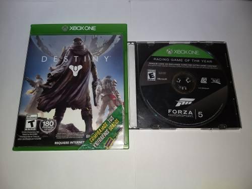 Juegos Para Xbox One Forza Motorsport 5 Y Destiny