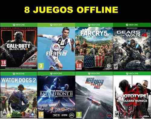 Juegos Para Xbox One (offline)
