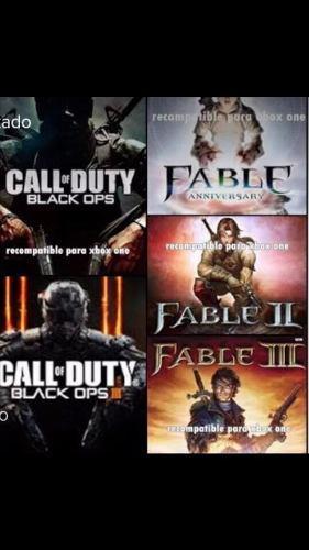 Juegos Xbox 360/one.(paquete 5 Juegos)