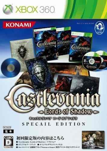 Juegos,castlevania Lords Of Shadow Edición Limitada Impo..