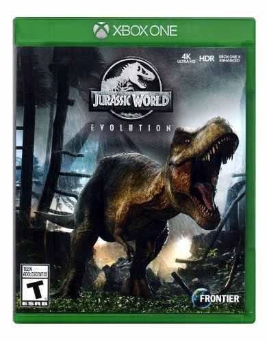 Jurassic World Evolution 4k Ultra Hd Xbox One Juego Karzov *