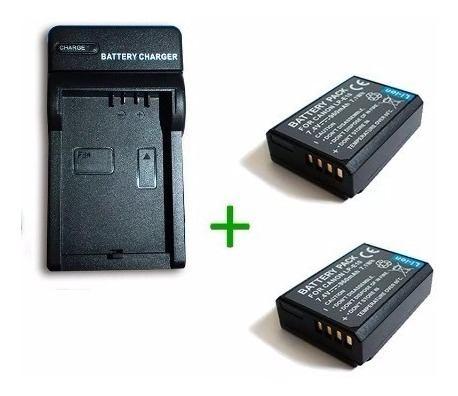 Kit Cargador + 2 Baterias Lp-e10 Para Canon Eos T6 Rebel T3