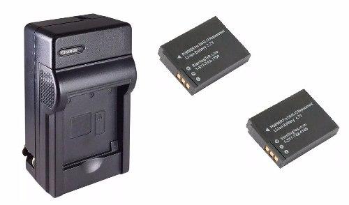Kit De 1 Cargador Y 2 Baterías En-el12 Para Cámara Digital
