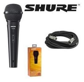 Micrófono Shure Sv200 Con Cable Xlr-xlr 100% Nuevo
