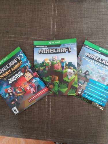 Minecraft Juego Completo, Story Mode Y Paquete De Explorador