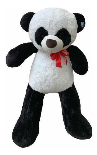 Oso Panda De Peluche Gordo Gigante 1.35m Envío Gratis