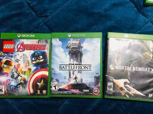 Paquete De 3 Juegos Físicos Xbox One Usados En Excelente