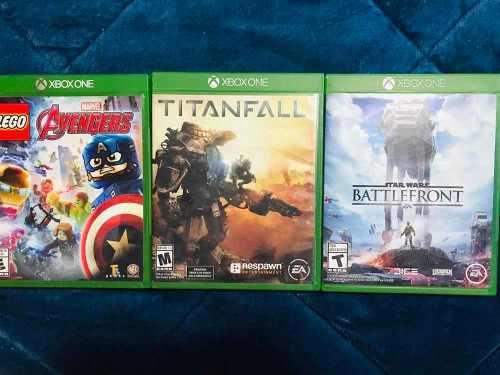 Paquete De 3 Juegos Para Xbox One. Usados En Excelente Estdo
