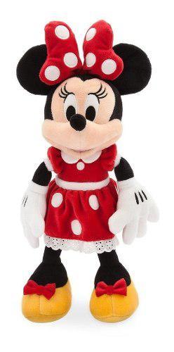 Peluche Minnie Mouse, Original De Disney, 35 Cms