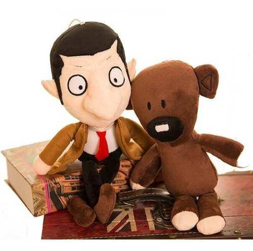 Peluche Muñeco Mr Bean Y Teddy Oso Figura 30 Cm