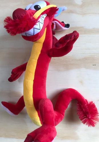 Peluche Mushu Mulan 30 Cm De Alto, Disney Dragon