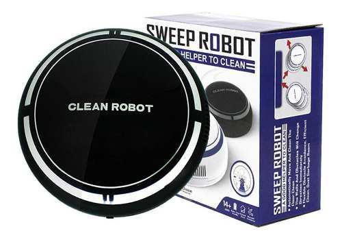 Pequeño Robot De Limpieza Inteligente Ambiental Para El