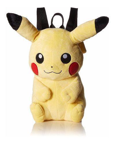 Pokemon Pikachu Picachu Peluche Mochila Figura Original