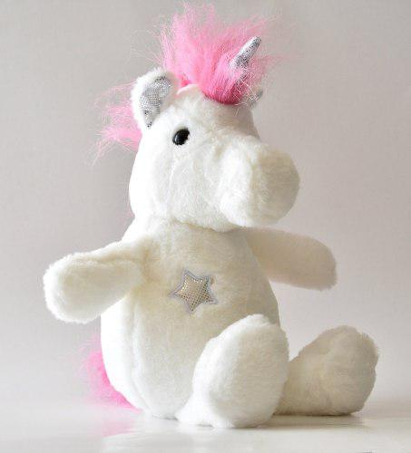 Unicornio De Peluche, De 33cm Calidad Marca De D`peluche