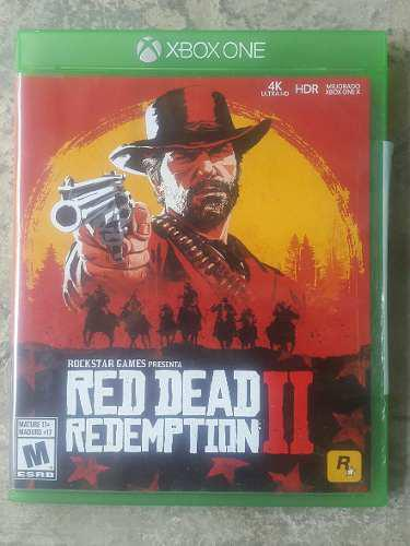 Video Juego Red Dead Redemption 2 X Box One