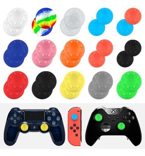 100 Gomas Control Silicon Palanca Ps4 Xbox Fletegratis 50par