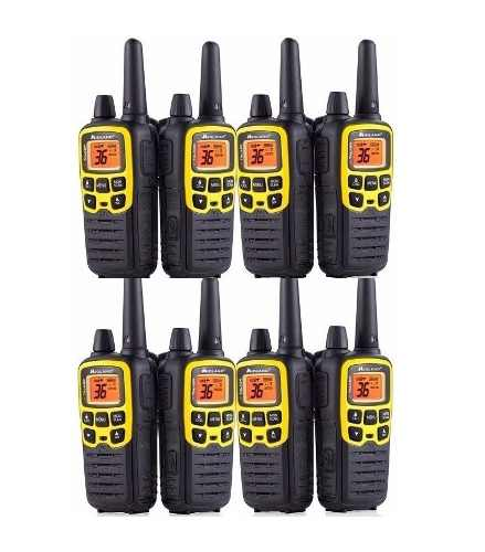 4 Kit Radios Midland X Talker T61vpkm* 32mi 2 Vías