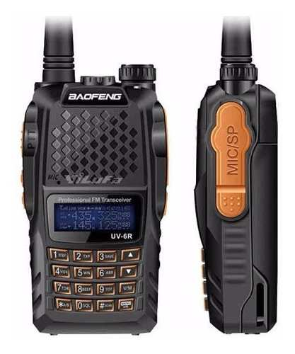 6 Radio Baofeng Uv6r Doble Banda Vhf Uhf Waterproof 8 Wats