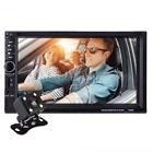 7'' Car Video Radio b 2din p W/ Rearview Camera Mp5