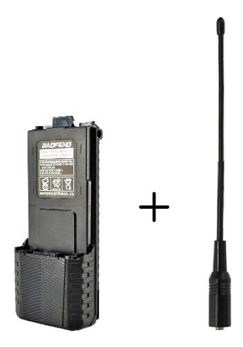 Bateria  Mah Radio Baofeng Uv-5r + Antena Nagoya Na-701