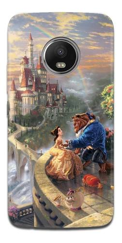 Funda Motorola G6 E5 Z2 Z3 Play Plus Bella Y Bestia 2