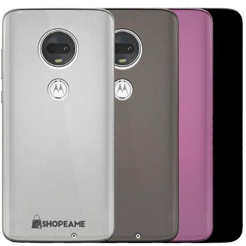 Funda Motorola Moto One Z G E C Plástico Silicona Flexible