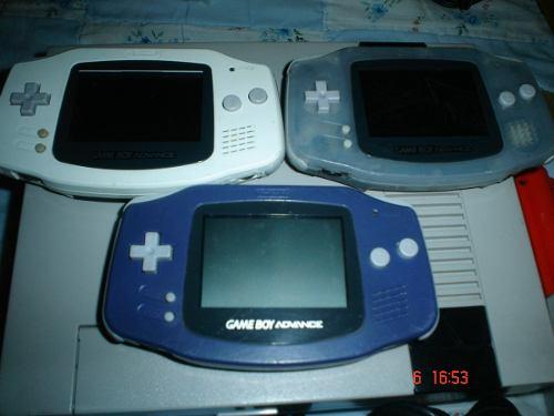 Game Boy Advance Con 6 Juegos Mario Zelda Potter Donkey Gba