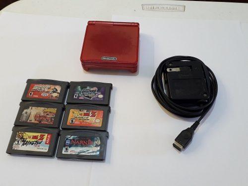 Game Boy Advance Sp 6 Juegos Precio A Tratar