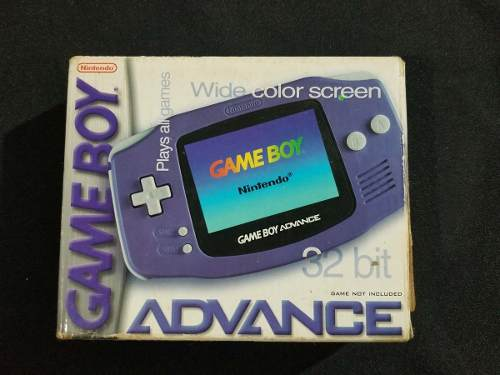 Gameboy Advance Morado Con Caja